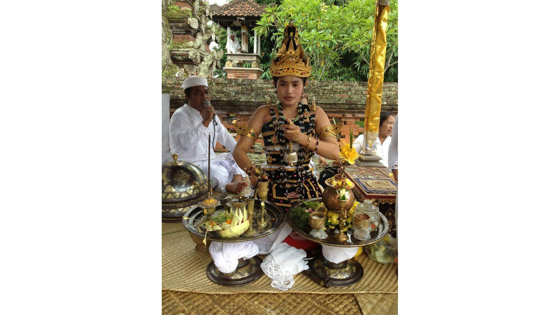 Ritual Blessing Ceremony w/ The High Priestess of Bali